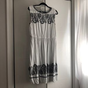 Loft embroidered dress